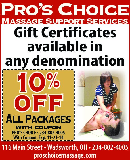 Massage Package Discount